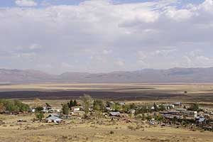Tuscarora is about 50 miles north of Elko