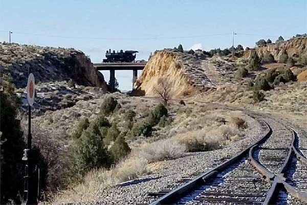 V&T Rairoad Virginia City Nevada