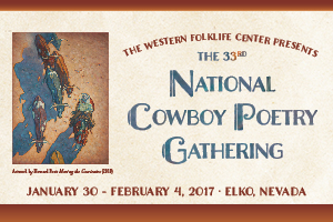 National Cowboy Poetry Gathering, Elko Nevada