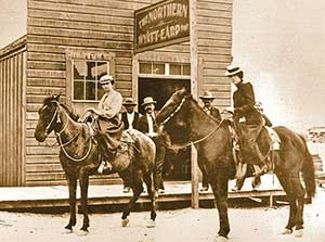 Wyatt Earp's Northern Saloon, Tonopah Nevada