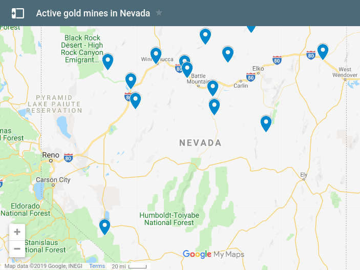 Pahrump To Las Vegas >> Comstock Mining Update — May 31, 2019 | NevadaGram from ...