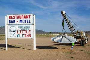 Little Ale-Inn, ET Highway, Rachel Nevada