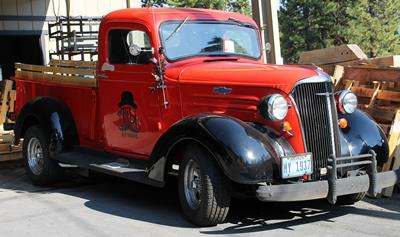 Alibi Brewery - Vintage Truck