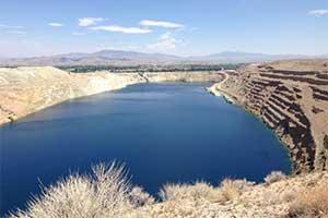 The Anaconda Pit, Yerington Nevada