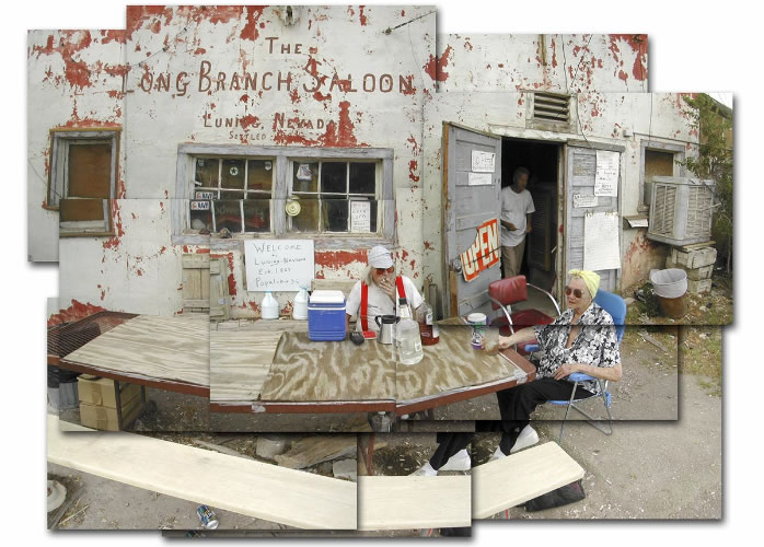 The Long Branch Saloon, Luning, 2002 by Larry Angier
