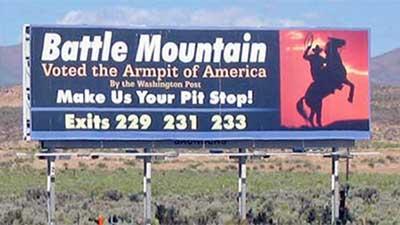 Pit Stop Billboard