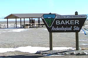 The Baker Dig, Baker Nevada