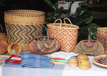 Baskets at Eureka Restoration Enterprise