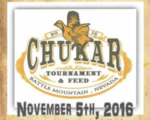 Battle Mountain Chukar Tournament and Feed