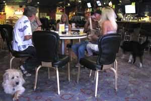 "A reading from ""Breaks, Brains & Balls"" by Joe Conforte at Joe's Tavern, Hawthorne Nevada"