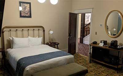 Bedroom, Hotel Belvada