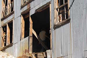 Belmont Mill siding