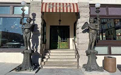 Belvada Hotel entrance, Tonopah Nevada