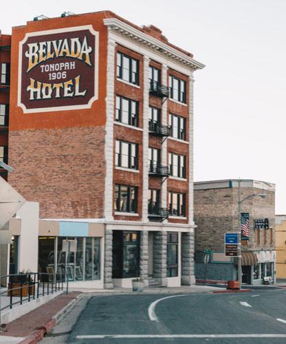 Belvada Hotel, Tonopah Nevada