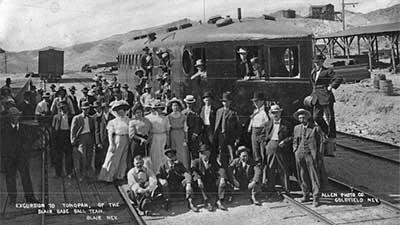 McKeen car taking Blair baseball team to Tonopah
