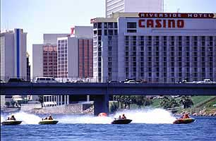 Boat races on the Colorado River, Laughlin Nevada