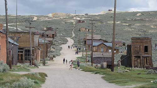 Bodie California State Park in far western Nevada