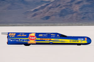 Mike Cook's Bonneville Shootout - Rain Date