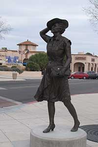 Boulder City street sculptures