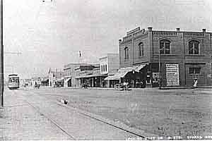 B Street ca 1910, Sparks Nevada