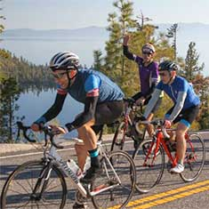 Annual America's Most Beautiful Bike Ride – Lake Tahoe Nevada