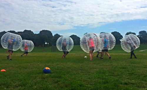 bubble ball soccer - Cimoch Sept '16