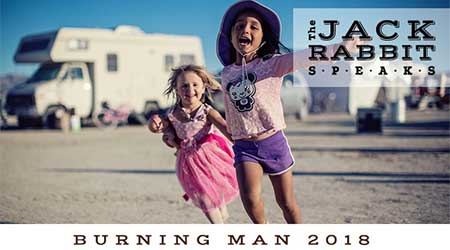 Kids at Burning Man