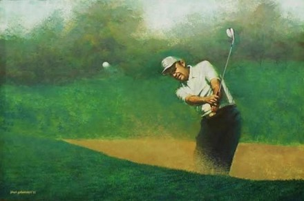 """Sand Trap"" by Mesquite artist Floyd Johnson"