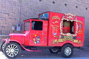 This 1926 Model T is one of the antique cars displayed at the old Goldfield fire house.