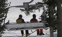 Chair lift at Heavenly Lake Tahoe