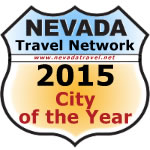 Nevada Travel Network's 2015 City of the year