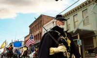 Civil Warriors on Parade, Nevada Day 2014 Virginia City