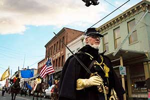 Civil Warriors on Parade, Nevada Day 2014 Virginia City