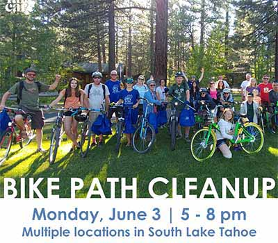 Tahoe trail cleanup