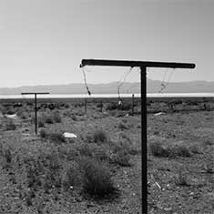 Clothesline in a Nevada ghost town