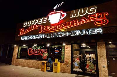 Coffee Mug restaurant Elko Nevada