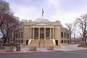 Pershing County Court House, Lovelock Nevada