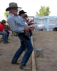 Cowboy Fast Draw Contest
