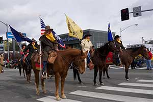 Cowboys at the 2014 Nevada Day Parade Carson City