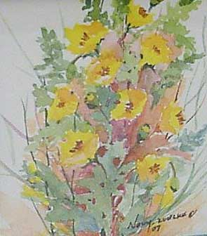 Watercolor by Darlene Grace Novy-Zuelke (1931-2011)
