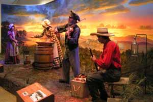 Old West Diarama