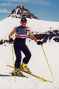 Dominic Marti at home in Switzerland
