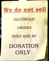 dont sell alcohol, Gold Point