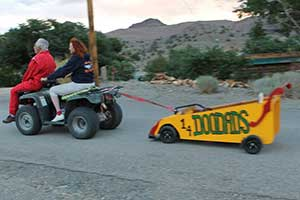 Doodads' Downhill Roller, Silver City