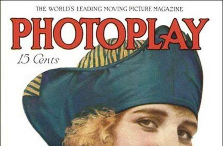 Photoplay Magazine/Edna on th cover