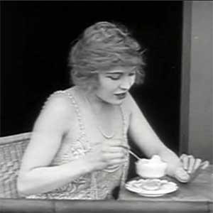 Edna Purviance in The Adventurer (1917)