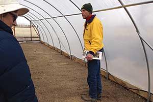 Hoop House Comstock Seeds, Gardnerville Nevada