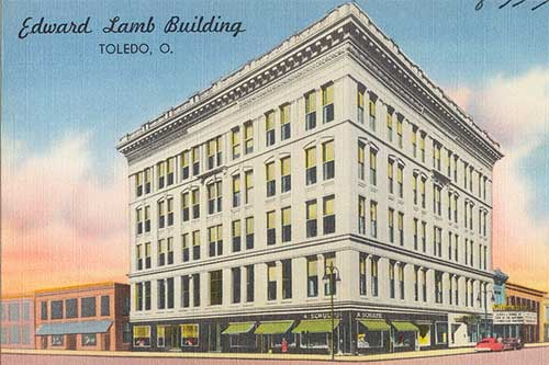 Edward Lamb Building, Toledo Ohio