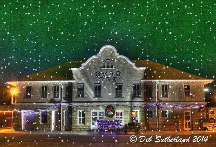 2014 Christmas card by Deb Sutherland