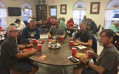 Dinner at the Eureka Nevada Senior Center